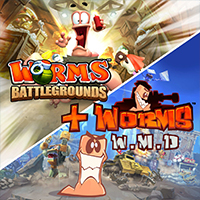 Worms Battlegrounds + Worms W.M.D